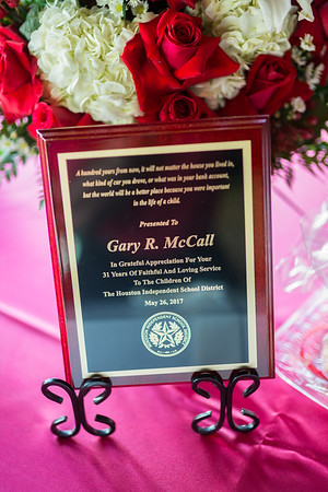 Gary McCall's Retirement Party