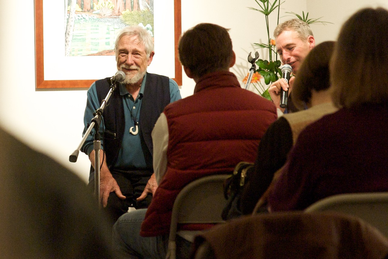 Tom Killion & Gary Snyder @ the O'Hanlon Center