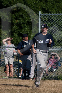 Members of the Gates, NY Police and Fire Departments took part in a charity softball game on July 27, 2012. The purpose of the event was to benefit the family of Ret. Gates Police Officer Sonny Chung. Officer Chung was medically retired after being involved in a vehicle crash while responding to a call in 2002. Tragically, he was involved in a second accident in early 2012 that claimed his life.