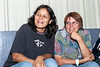 Audrey Nakogee and Mary Jane Okimaw 2005 August 8