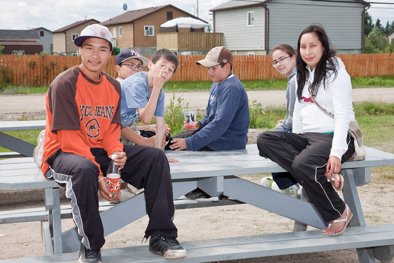 Gathering of Our People, Moose Factory 2009 July 30 (day 3 of 4)