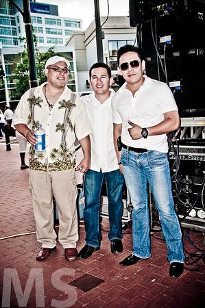 Percussionists. Gato & Palenke Music Co
