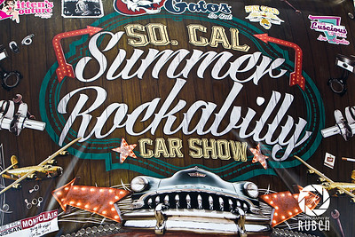 Gatos SoCal Summer Rockabilly Car Show 2015