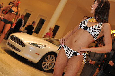 """Photograph at Gaudin Luxury Cars Party in Las Vegas with DSM Luxury. """"Follow The Fun With DSM"""" Photograph by Las Vegas photographer Mark Bowers."""