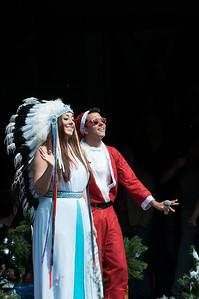 Joan Franka en Jan Smit bij de Canal Parade 2012