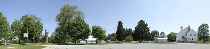 Ukey Church Picnic Panorama