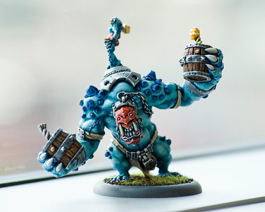 Dennis painted this Dire Troll Bomber for Jon.