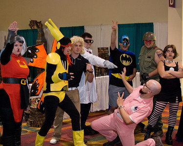 No words can sum up this ramshackle mix of costumed Gen Con goers.