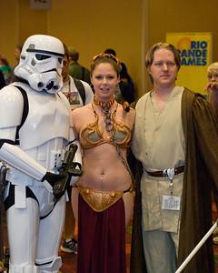 More Star Wars dress-up.