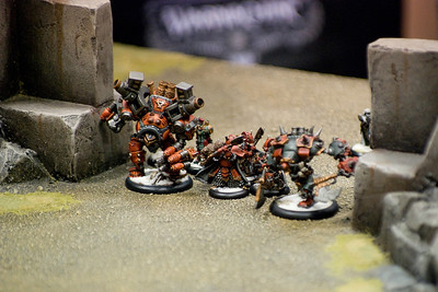 Khador on the charge