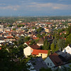 The view of the town of Neustadt from the grounds of Herz Jesu Kloster