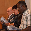 People from around the world gathered for vespers, shared in a variety of languages