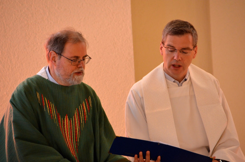 Fr. Claudio and Fr. Heiner