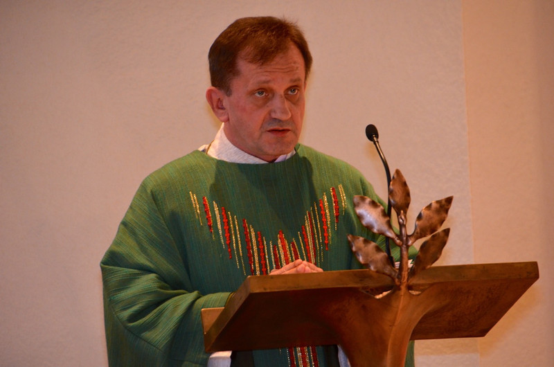 The Asian SCJs organized Tuesday's Mass. Fr. Francis Pupkowski was the main celebrant