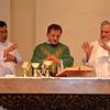 Fr. Madya, Fr. Francis and Fr. Rino