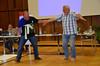Fr. José Briñon and Fr. Rino Venturin finish the skit!