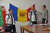 Piotr Kuszman, Zdzislaw Smiertka and Artur Sanecki talk about Moldavia