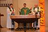SCJs from South America organized Friday's Mass. Fr. José Luis Domínguez Gonzalez was the main celebrant.