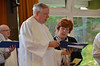 Fr. John van den Hengel and Kathleen Donohue