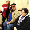 Diane Raver | The Herald-Tribune<br /> Brenda Wetzler (from left) talks with Bill and Martha Dramann.