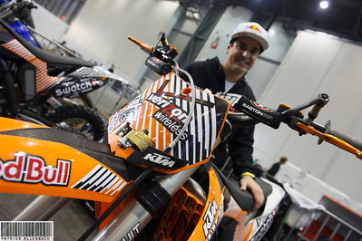 Supercross Geneva 2011 - Matt Rebeaud