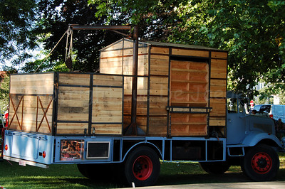 This weird truck contains all what the Bolwerk Fanfare is about...