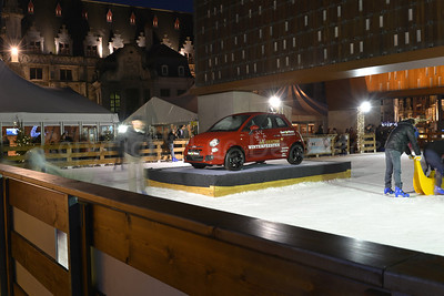 View on the Ice Rink during the Winterfeesten (Winter Fest).