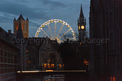 One of the largest mobile Ferris Wheels in Europe, the Roue de Paris, 55m tall.