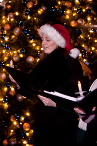 Candlelight caroling with the National Philharmonic