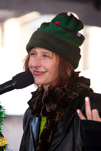 Lisa Mathews, lead singer of kids rock band Milkshake