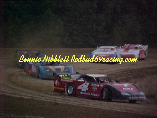 Georgetown Speedway August 4, 2006  Leading Bobby Watkins 4 TSS Late Model