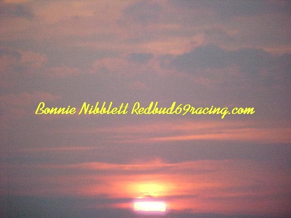 Georgetown Speedway August 4, 2006 <br /> great sunset