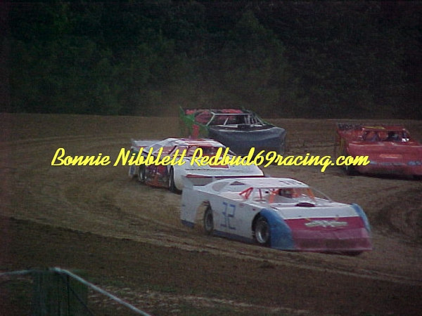 Georgetown Speedway August 4, 2006 TSS Late Model with Mod Lite driver in the #32 TSS Late Model