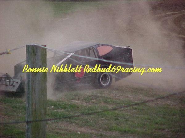 Georgetown Speedway August 4, 2006 Jason Daliessio 9D got around turn 3