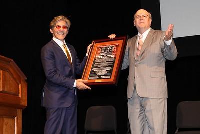 Geraldo Rivera Lecture Series 2015