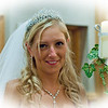 Bride at the wedding reception