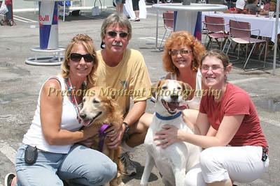IMG_0047 Helga & John McAneney,Sheryl Tyson,Melissa Duncan with Millie & Calvin