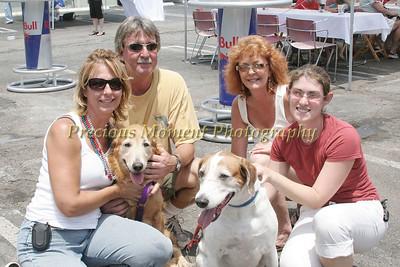 IMG_0051 Helga & John McAneney,Sheryl Tyson,Melissa Duncan with Millie & Calvin