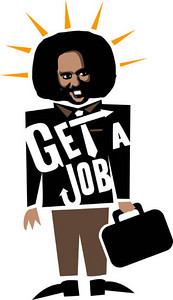 The Get A Job Logo