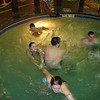 Cassie, Erin, Gavin, Cory and Alex in the spinning whirlpool.  ( 2009 )