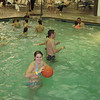 Cassie and Alex in the pool.  ( 2009 )