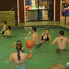 Cassie, Cory, Erin and Alex in the pool.  ( 2009 )