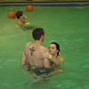 Alex and Erin in the pool.  ( 2009 )