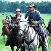 A Confederate Cavalryman rides into the Hanover Cavalry Battle  MIN_9299B