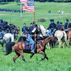 Cavalry soldier gallops with flag before HanoverBattle  MIN_8729
