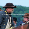 Reenactor portrays a Major General in Confederate Cavalry MIN_9295