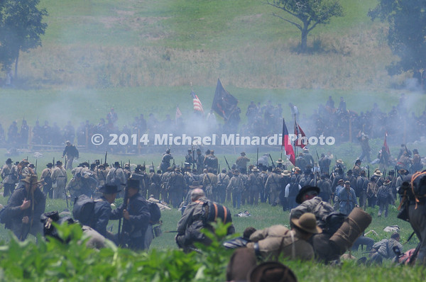 Confederates ready for final charge in Pickett's Charge MIN_9887