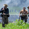 Wounded Confederates retreat away from Union line MIN_9855B