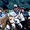 Rebel cavalry ready to charge in East Cavalry Field Battle MIN_9281B