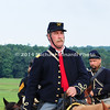 Union cavalry soldiers wear red into battle MIN_9219B